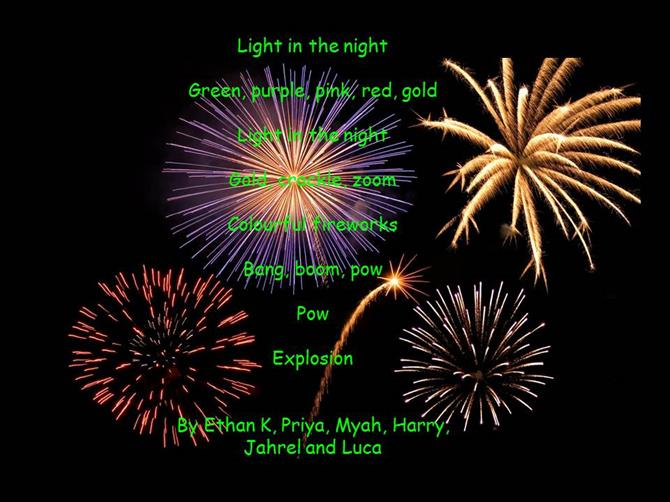 Firework Poems 5